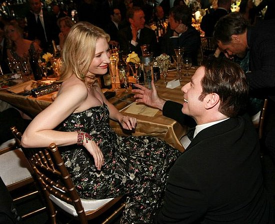 John Travolta and Cate Blanchett at the 2008 Screen Actors Guild Awards
