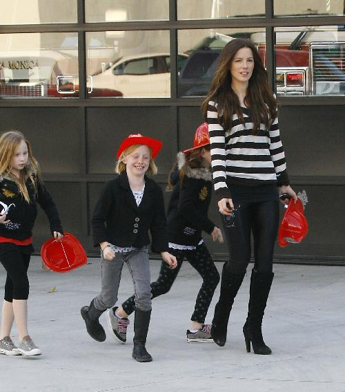 Kate Beckinsale Sets Off Birthday Alarm For Lily