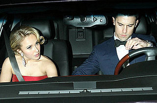 Hayden and Milo Dress to the Nines For a Night on the Town