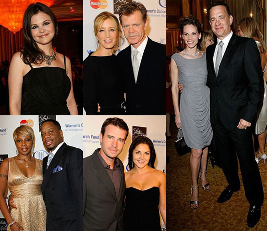 Hilary Swank, Tom Hanks, Felicity Huffman, Mary J. Blige at Entertainment Industry Foundation's Women's Cancer Research Fund