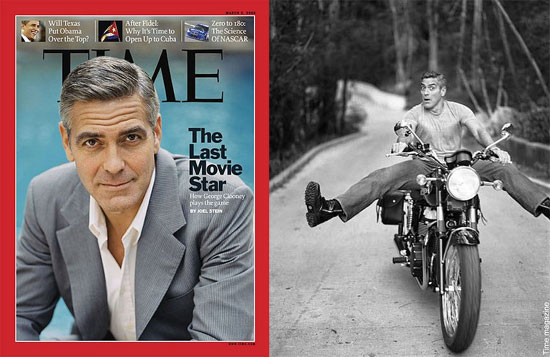 George Clooney on Time Magazine