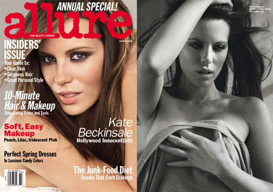 Kate Beckinsale in Allure