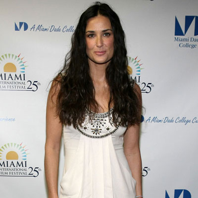 Demi Moore at a Press Conference for Flawless