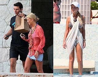 Tara Reid In A Bikini In Cancun, 3/16/08