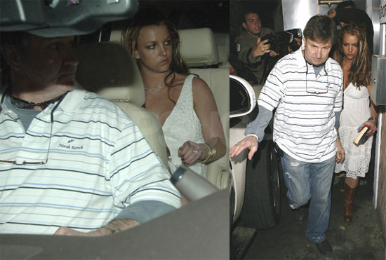 Britney's Night Out With Mom and Dad