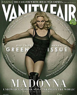 Madonna On The Cover Of Vanity Fair Green Issue