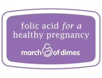 Label Able: Folic Acid Seal