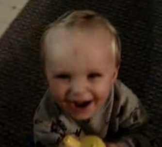 Baby Practices Evil Laugh