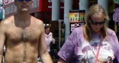 Dude Wears Speedo in Public