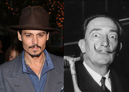 Could Just Anyone Write Johnny Depp's Movie About Dalí?
