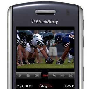 SlingPlayer on the BlackBerry to Be Showcased at CES