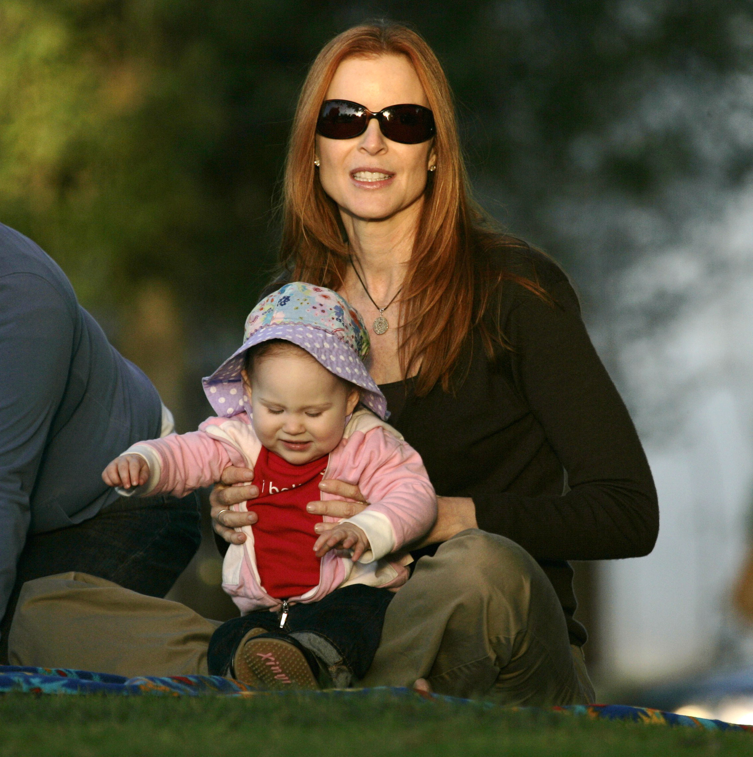Marcia Cross Doubles Her Fun in the Sun