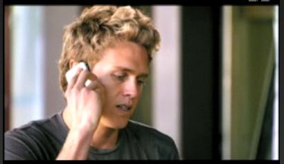 Spencer Still Rockin' the iPhone