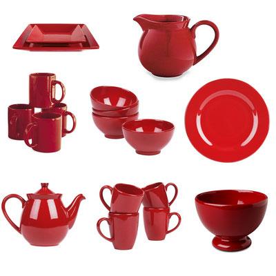 Red Waechtersbach Collection