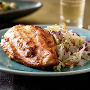 Fast & Easy Dinner: Asian Chicken and Cabbage