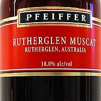 Happy Hour: Pfeiffer Rutherglen Muscat
