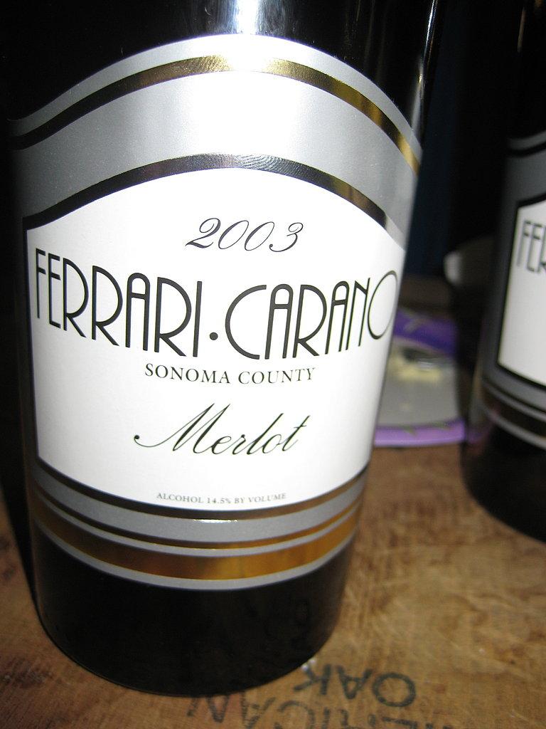 2003 Ferrari Carano Merlot