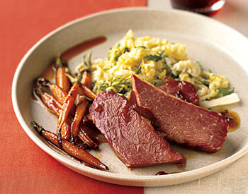 Sunday Dinner: Corned Beef and Carrots