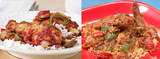 Chicken Cacciatore Two Ways — Beginner and Expert