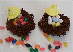 Easter: Edible Bird's Nest