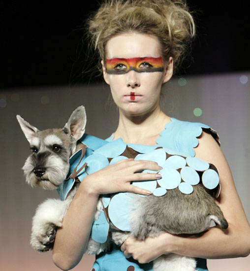 Glammin' It up at the New Year Dog Party Fashion Show