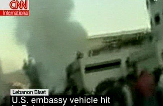 Headline: Explosion in Beirut Targets US Embassy
