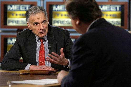 Ralph Nader Is Running for President