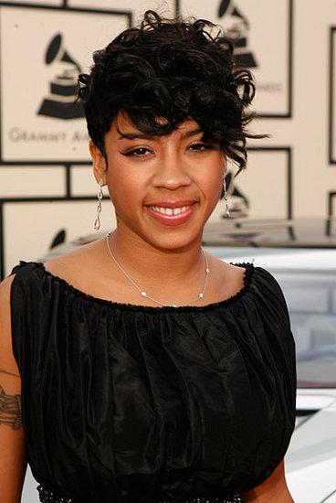 Keyshia Coles' Hair and Makeup at the 2008 Grammys