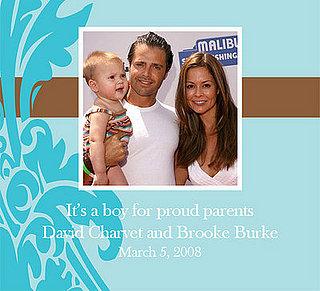 It's a Boy for Brooke Burke and David Charvet!