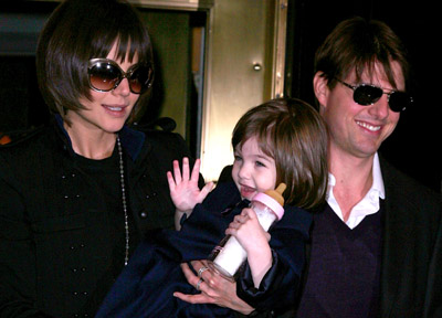 Suri Takes Pointers From Her Superstar Parents