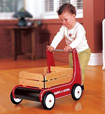 Radio Flyer Push Wagon, Radio Flyer, Walking Toys