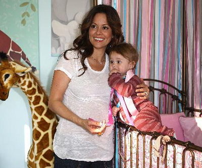 Brooke Burke's Baby Room