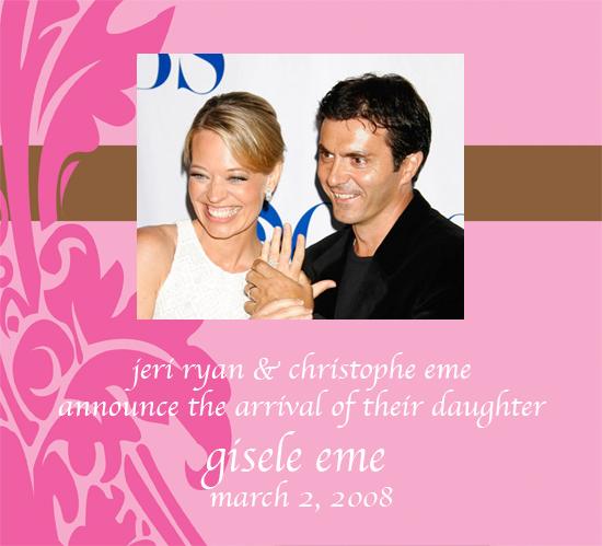 Jeri Ryan Has Baby