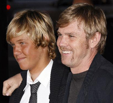 Ricky Schroder and Son Luke William