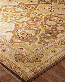 Mink Gold Rug?-? Gold Accents?-? Neiman Marcus