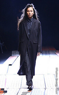 Photos from Japan Fashion Week Fall 2008, featuring designers Hidenobu Yasui, Hiromi Yoshida, Kamishima Chinami, and Mode Acote