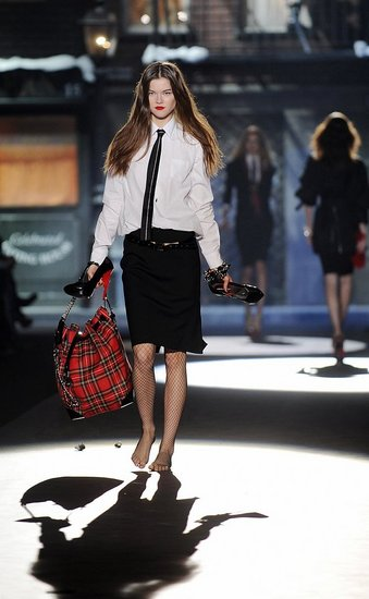 DSquared2 Fall 2008 Fashion Show As Seen In New York Fashion Week