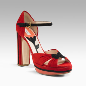 Prada Camoscio Deco Platforms  -- Love it or Leave it?