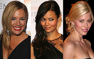 Which BAFTA Beauty Had the Most Beautiful Hair-On-The-Side Hair?