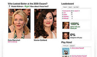 Oscars Faceoff Game