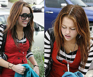 Miley Cyrus has a new hair color