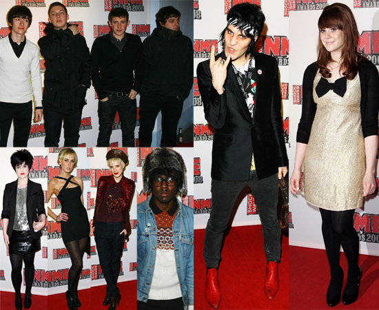 Arctic Monkeys Win Three Awards At The NME Awards