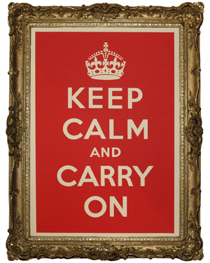 Love It or Hate It? Keep Calm Poster