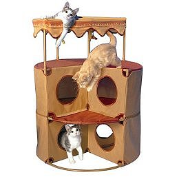 Cat Pueblo Play Tower