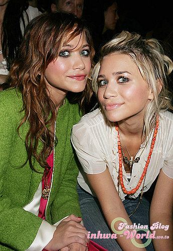 Olson Twins Make-up Style