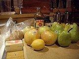 Caramel Fondue With Fall Fruit