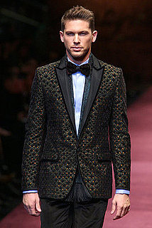 Menswear Fashion Week's Hot MANnequins