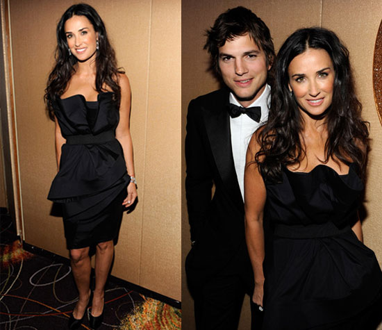 Demi Moore in Donna Karan LBD at the 2009 Inaguration