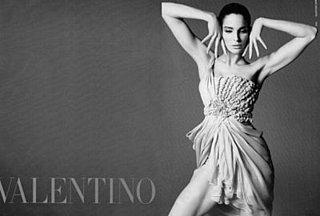Stephanie Seymour Stars in Valentino Spring/Summer '09 Ads