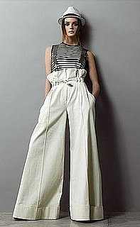 Style Glossary: Paperbag Pants